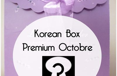 Korean Box Premium d'octobre (spoil)