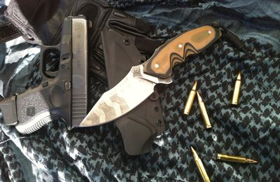 "Military Knife Figther ""TIGER"" acid"