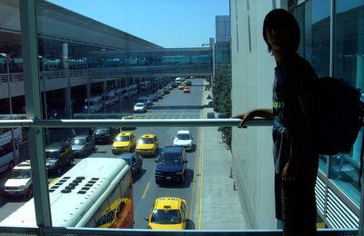 Départ d'Istanbul.