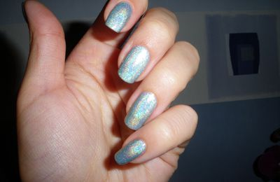Vernis holographie Cyantrace