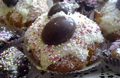 Mes muffins coco surprise!