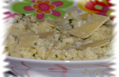 Risotto 3 fromages