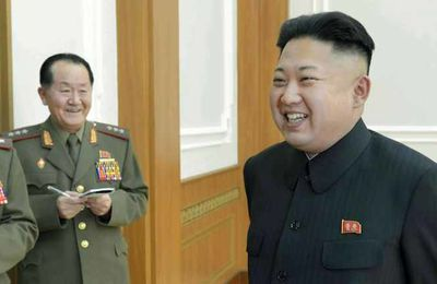 North Korean embassy complains to UK after salon mocks leader's hair