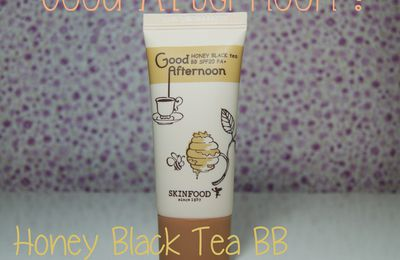 Good Afternoon ! Honey Black tea BB Skinfood