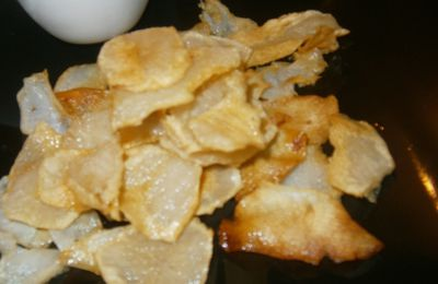 chips de topinambours
