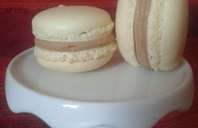 Macarons à la ganache montée carambar