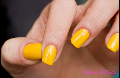 "swatch jaune europcosmetic ""soleil"" & arabesques"