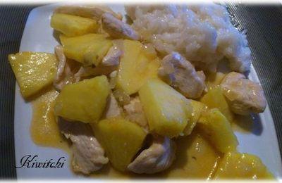 Poulet à l'ananas