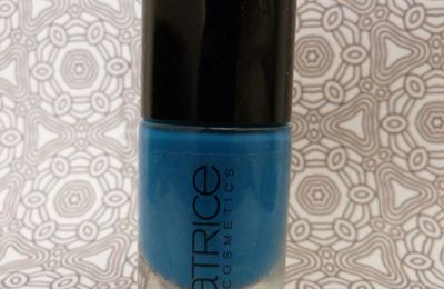 Swatch : Catrice : 400 Blue Cara Ciao