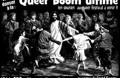 Objectif Egalité Lorraine soutient la Queer boom ultime du 14 juin à Maxéville