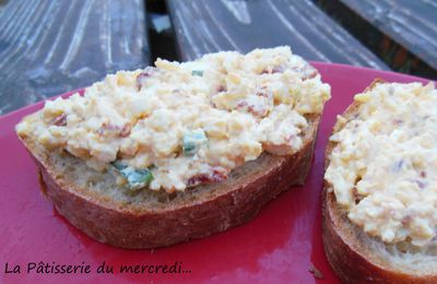 Tartines oeufs durs/fromage frais...