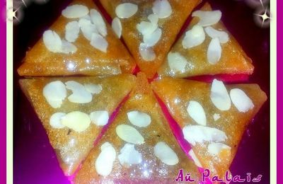 Triangles aux amandes
