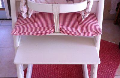 Ma chaise Tripp Trapp et le Newborn Set de STOKKE