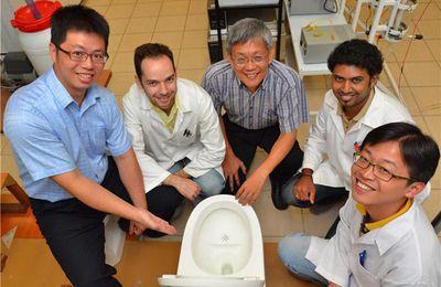 Des WC innovants qui économisent 90% d'eau