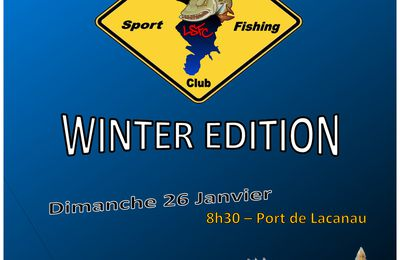 Sorties Lacanau SportFishing Club 2014 - Winter édition