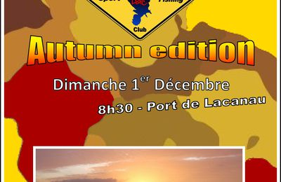 Sorties Lacanau SportFishing Club 2013 - Autumn edition