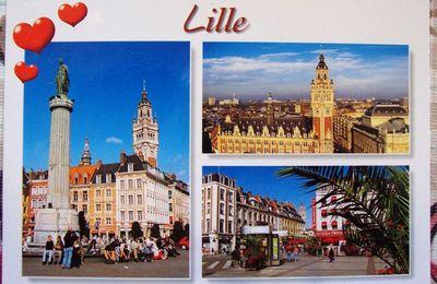 Cartes postales reçues