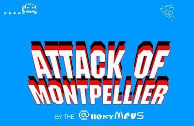 Space Invader : attaque de Montpellier en 1999 avec Zevs