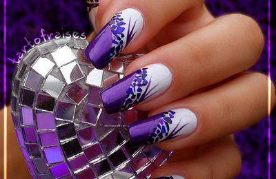 Tuto Nail Art Nacre Violet