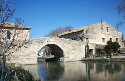 Le canal du Midi, source d'inspiration...