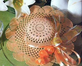 Chapeaux décoratifs et leurs grilles gratuites , au crochet !