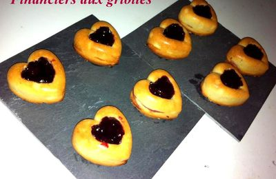 Financiers aux griottes