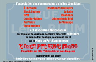 The First Blum Creative Market / le 1er juin 2013
