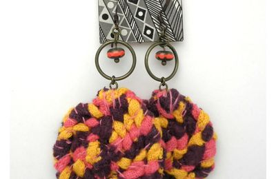 "Boucles d'oreilles collection ""BRJ"""