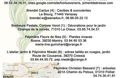 A la découverte des pépinières et jardins de la Bresse-Bourguignonne