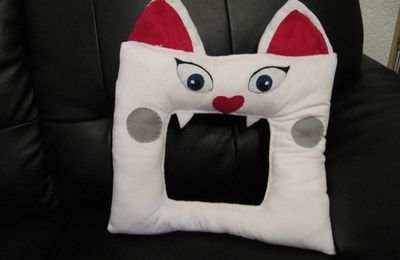 "Coussin Croque-cauchemars ""chat"""