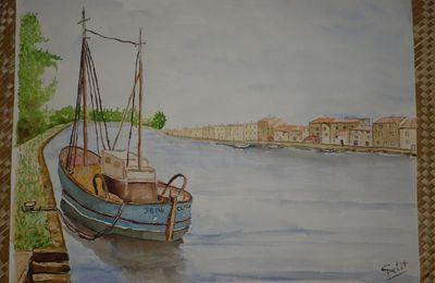 le bateau de peche