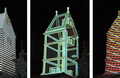 Pigeon House - Video Mapping
