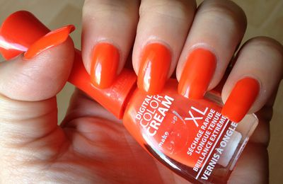 "Digital colorcream ""Orange fluo"""