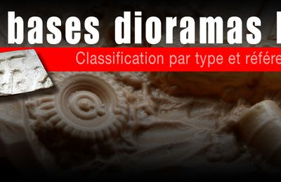 classification des Bases Diorama ESCI