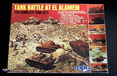 Nouvelle galerie - diorama MPC Tank Battle at El Alamein