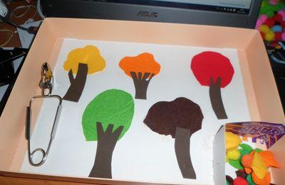 Les couleurs de l'automne et des arbres