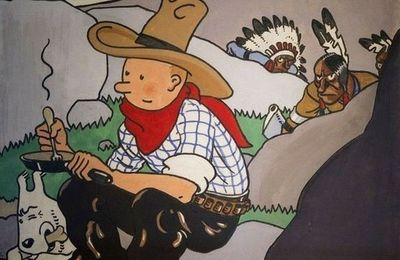 Tintin en Amérique : une couverture de 1,3 million d'euros.
