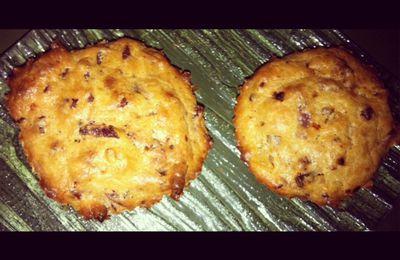 Mes petits muffins aux lardons de volaille