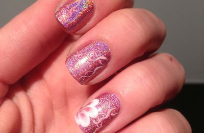 Nail-Art sur Miss Bliss