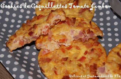 Cookies de Coquillettes Tomate Jambon