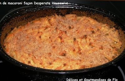 Gratin de macaronis façon Desperate Housewive