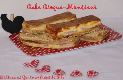 Cake Croque-Monsieur
