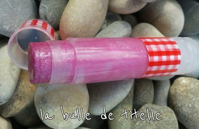 Baume à lèvres Girly Totally Framboise