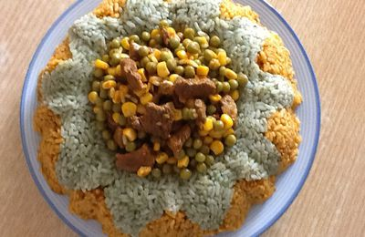 Riz en marguerite