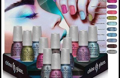 Color club Halo hues 2013 - China glaze Hologlam holographic 2013