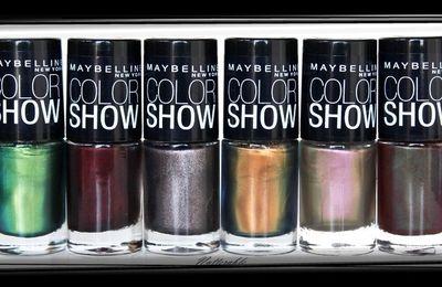 Maybelline - collection Color show édition limitée automne 2012