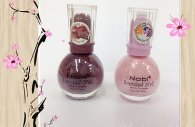 Nabi - Scented nails - les vernis gourmands