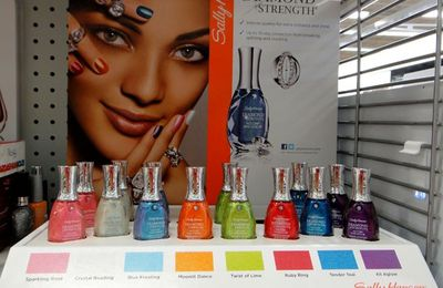 Sally Hansen Diamond strengh - collection automne 2012