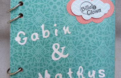"Mini album ""Gabin et Mathys"""