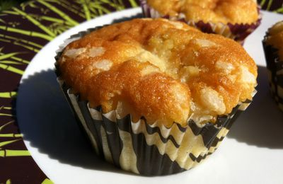 MUFFINS AUX POMMES PERLES